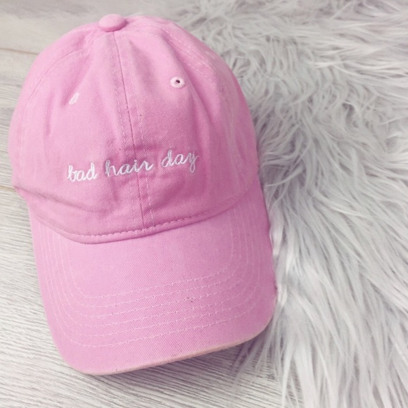 7e611db8 Bad Hair Day Pink Dad Hat NWT. NWT. M_5a585fe83800c54597e712ff.  M_5a585fea36b9deba72569062. M_5a585fec46aa7c79099d4bb8